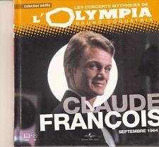 CD ALBUM LES CONCERTS MYTHIQUES DE L'OLYMPIA *CLAUDE FRANCOIS*