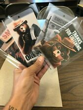 Smokey Bear 75th Birthday Limited Edition Bookmark Set - Only 1,250 Sets Made