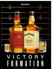 Jack daniels Victory formation poster 18 by 26 inch