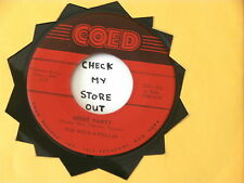 ROCK-A-FELLAS~ NIGHT PARTY~ MAD MIKE ROCKER~ COUNTIN THE DAYS ~ INSTRUMENTAL 45