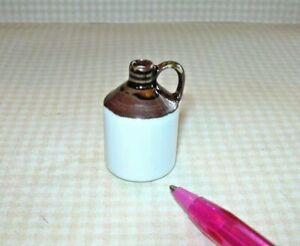 Miniature Wine/Moonshine Jug w/Handle: DOLLHOUSE Miniatures 1:12 Scale