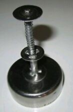 Filipino-Style Polvoron Molder: Small Mold: Round Shape