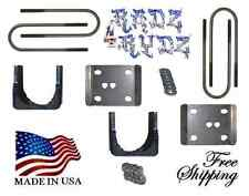 "1980-1996 Ford F100 F150 5"" Rear Lowering Drop Axle Flip Kit Lowering Kit"