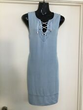 Gorgeous PORTMANS lace Up Shift Dress Size 10