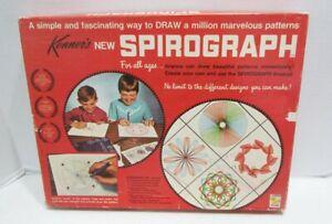 SPIROGRAPH 1967 ORIGINAL DRAWING TOY No. 401 VINTAGE SET W/ BOX & PARTS KENNER