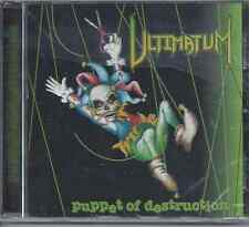 Ultimatum-Puppet Of Destruction 1998 Rowe Productions Christian Metal NEW-SEALED