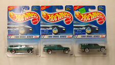Lot of 3 1995 Hot Wheels Dodge Ram 1500 Model Series First Editions Variations