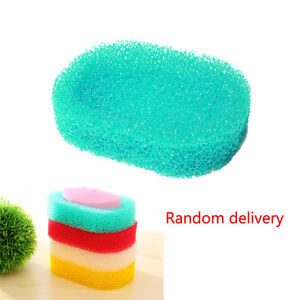Soap Dish Box Container Case Shower Washing Hotel Home Bathroom Random Color