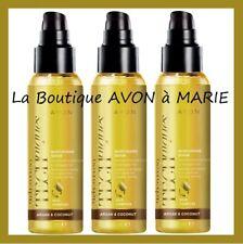 3 X SERUM HYDRATANT à L' HUILE D' ARGAN & de COCO AVON : FINI les Cheveux Terne