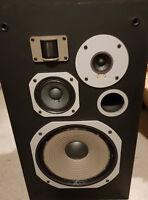Pair Speaker Pioneer HPM 70 1979 8ohms 4 Way 120 Watts HI-FI Haut Parleur