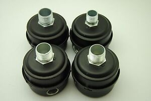SMI Industrial Air Filter with Canister. Unknown Part #, Lot of 4