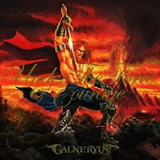 GALNERYUS UNDER THE FORCE OF COURAGE  2015 Japanese CD New  w/Tracking No.