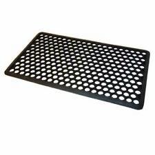 JVL Honeycomb Rubber Ring Entrance Floor Door Mat - Black