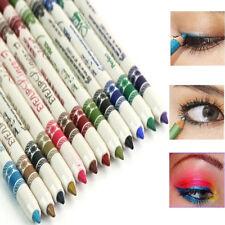 12 Stück Kosmetik Glitzer Lidschatten Eyeliner Lippenkonturenstift STIFT Make-up
