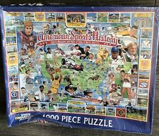 the White Mountain 1000 PCs Jigsaw Puzzle American Sports History Sports Museum