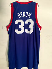 Adidas Swingman NBA Jersey Philadelphia 76ers Andrew Bynum Blue sz XL