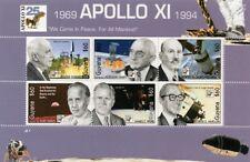 APOLLO XI / NASA Engineers / Robert Goddard Space Stamp Sheet (1994 Guyana)