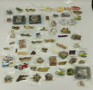 <Lot of 61> Seattle Seafair Hydroplane Racing Lapel Pins Collectible Rare Vtg