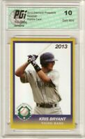 Kris Bryant 2013 Diamond Prospects Cubs Rookie Card PGI 10
