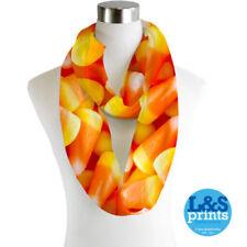Sciarpe, foulard e scialli da donna arancione senza marca in chiffon