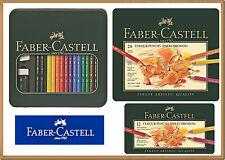 Coloured pencils POLYCHROMOS 12, 24 colors Faber-Castell 3 version
