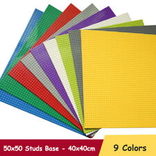 50x50 Studs Base Plate Board Building Blocks Baseplate Brick Compatible for Lego