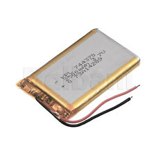 744370, Internal Lithium Polymer Battery 3.7V 2500mAh 74x43x70mm
