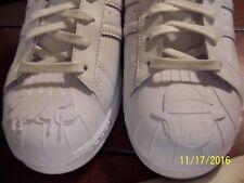 NEW Adidas Originals Superstar Pharrell Williams Equality Triple White size 11