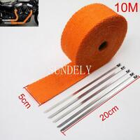 Thermoshield Reflective Heat Shield Heatshield Tape Wire Wrap 5cm wide x 100cm