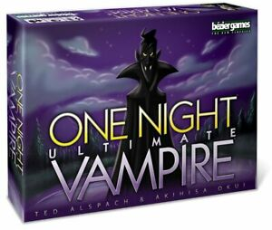 One Night Ultimate Vampire, Bezier Games (Brand New) Bluffing Party Game