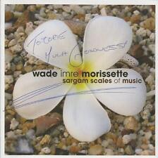 Wade Imre Morissette Sargam Scales of Music CD 2007 Signed Autographed Rare