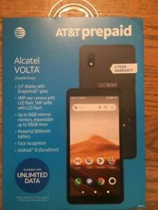 AT&T ALCATEL VOLTA 16GB  New and sealed PREPAID CELL PHONE
