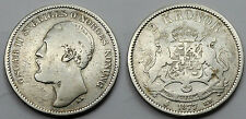 SUECIA SWEDEN 1877 EB OSCAR II 2 KRONOR MONEDA PLATA BC-