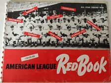 Vintage Baseball 1955 American League Red Book All Star Team Cover MANTLE BERRA