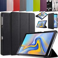 Pelle Sottile Smart Supporto Custodia Cover Per Samsung Galaxy Tab A 10.5 T590,
