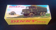 Boite Dinky Toys 824 CAMION GAZELLE BERLIET boite repro copie avec autorisation