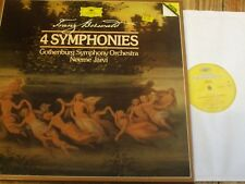 415 502-1 Berwald The 4 Symphonies / Jarvi / Gothenburg SO 2 LP box