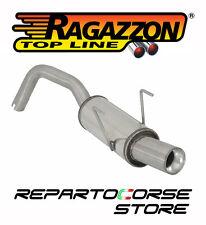 RAGAZZON SCARICO TERMINALE ROTONDO FIAT PANDA II (typ169) 16V 100HP 58.0317.98