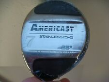 NEW Americast Stainless 15-5, 23 degree, #7 Wood with Graphite Shaft Golf Club