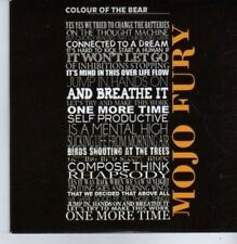 (BP444) Mojo Fury, Colour Of The Bear - DJ CD