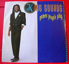 "King Sounds Games People Play 12"" PC 1987 Viza KSID 009 b/w Versions VINYL"
