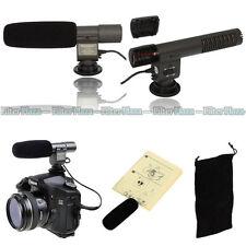 SG-108 Shotgun DV Stereo Microphone for Nikon D7100 D7200 D810 D5600 D5100 D750