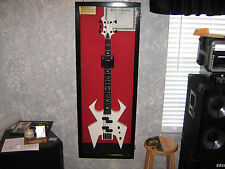 Guitar Display case/ Solid hardwood Strat/gibson