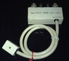 NF Electronics Instruments  2325A (L/M)    Test Fixture  leads
