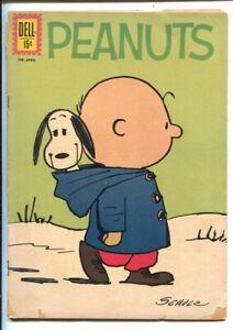 Peanuts-#12 1962-Dell-Charles Schulz cover art-classic comic-G