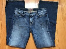 GUESS Premium jeans for women size 30 Flare Leg Distressed Embellished