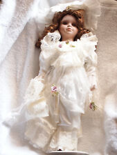 Porcelain Doll, Hand Painted, #By234