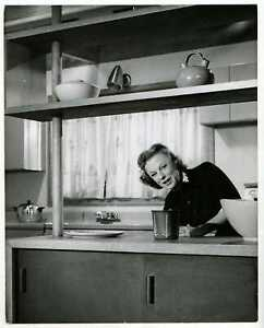 The McConnell Story 1955 Original Photo - June Allyson - Pat Clark