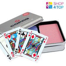 COPAG FOUR SEASONS 100% PLASTIC POKER CARDS - WINTER LIMITED EDITION - 2 DECKS
