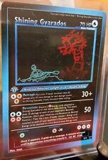 Pokemon card Shining Gyarados Limited Edition Neon Collection 1. Edition Destiny
